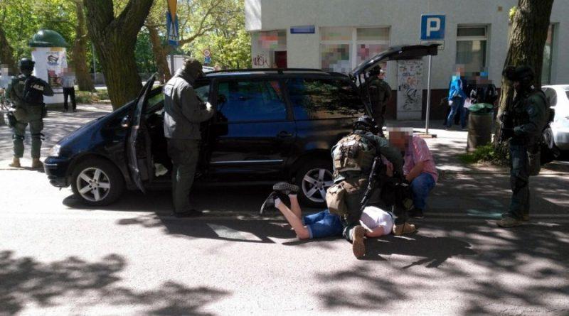 Brawurowa akcja CBŚ. Zatrzymania w Kołobrzegu i regionie [FOTO, FILM]