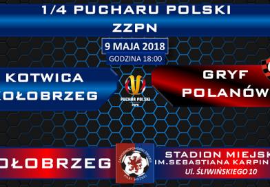 PP Kotwica Kołobrzeg kontra Gryf Polanów w Kołobrzegu