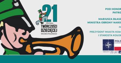 """Festiwal Twórczości Dziecięcej Wojska Polskiego """"Dzieci dla pokoju"""""""