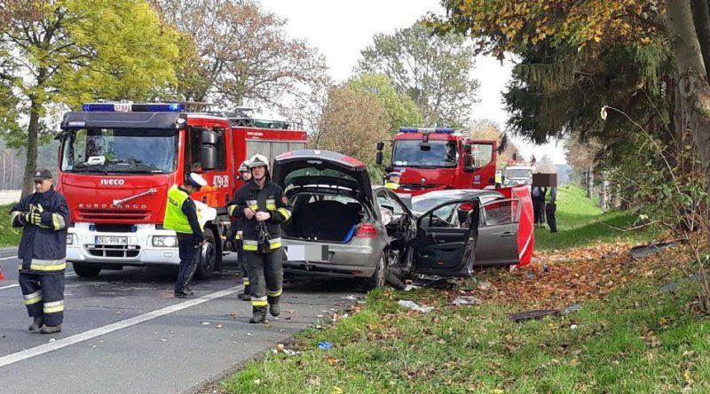 """Tragiczny wypadek na """"szóstce""""! Jedna osoba zginęła, dwie ciężko ranne [FOTO]"""