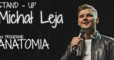 "STAND-UP Michał Leja ""Anatomia"""