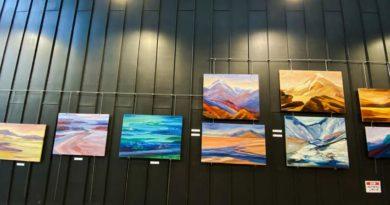 Wystawa malarstwa Małgorzaty Burcickiej-Kozieł