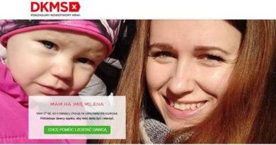 27-letnia Milena z Karlina walczy z ostrą białaczką szpikową- szukamy zgodnego Dawcy szpiku