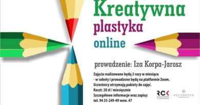 Kreatywna plastyka online – zapisy na zajęcia