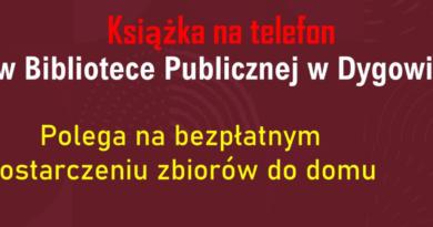 Książka na telefon w Gminie Dygowo